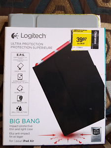 Logitech Big Bang case Ipad Air-Yellow/Grey Colour