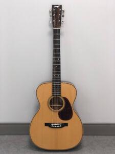 Bourgeois 00 guitar - Fiddleback mahogany/Adirondack spruce