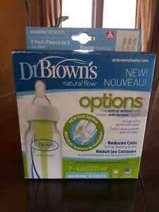 Barely used Dr. Brown options bottles Windsor Region Ontario image 1