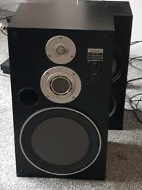 "Technics SB-X700A 12"" Honeycomb Disk Speaker"