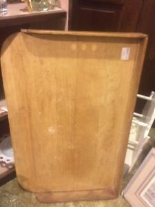 Antique wooden large dough board  London Ontario image 1