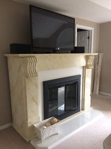 Unique-One of a Kind Electric Fireplace