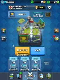 Clash Royale 12 Legendaries. Arena 10 and HAS NOT BEEN LINKED YET.