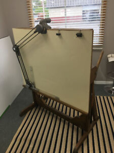 Drafting Table with arm for Sale