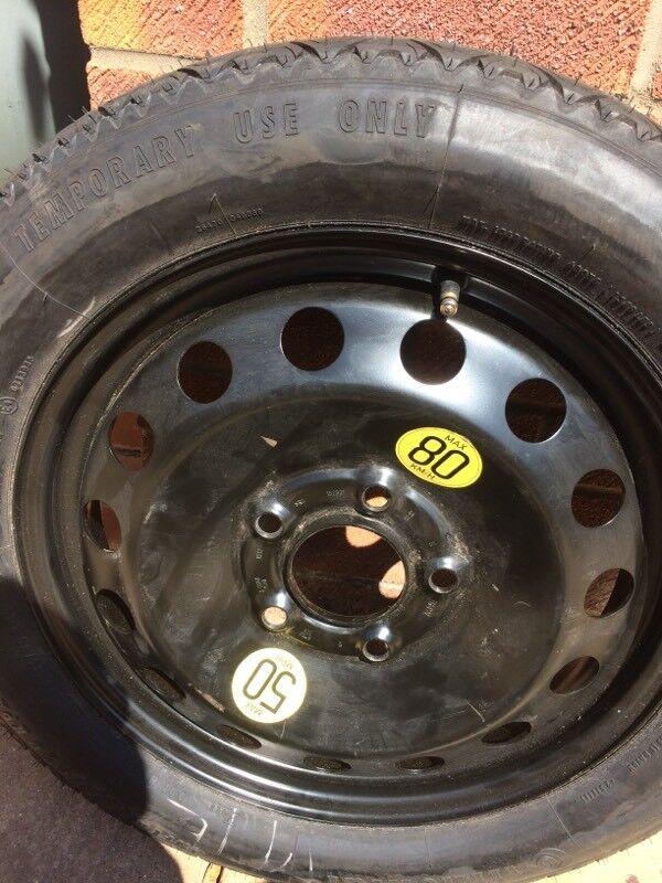 Bmw Mini R60 Countryman Space Saver Spare Wheel 2011 In