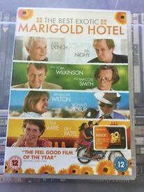 DVD The Best Exotic Marigold Hotel
