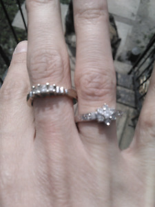 Diamond​ cluster ring *reduced*