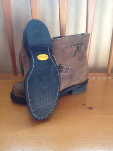 """Men's Chippewa 7"""" Bay Crazy Horse Engineer Boots - Size 9.5 Peterborough Peterborough Area image 2"""