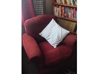 Lovely old Victorian single arm chair