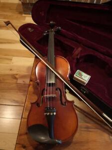 3/4 Violin and case