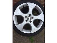 Golf gti mk5 alloy wheels