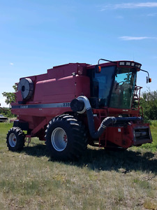 2005 Case IH 2388 and Headers
