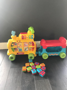 VTech Sit or Stand Alphabet Train