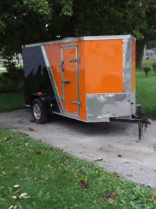 Utility Trailer for Motorcycle / Moving / Storage / Snowmobile