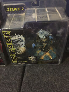 2 Rare Iron Maiden Figures