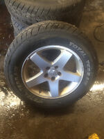 Dodge Charger Rims with tires 235/55/R17