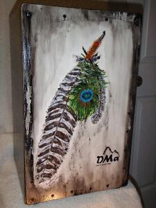 Cajons DMa peint à la main
