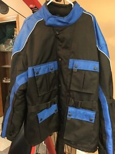 4XL motorcycle jacket duratex mint cond.