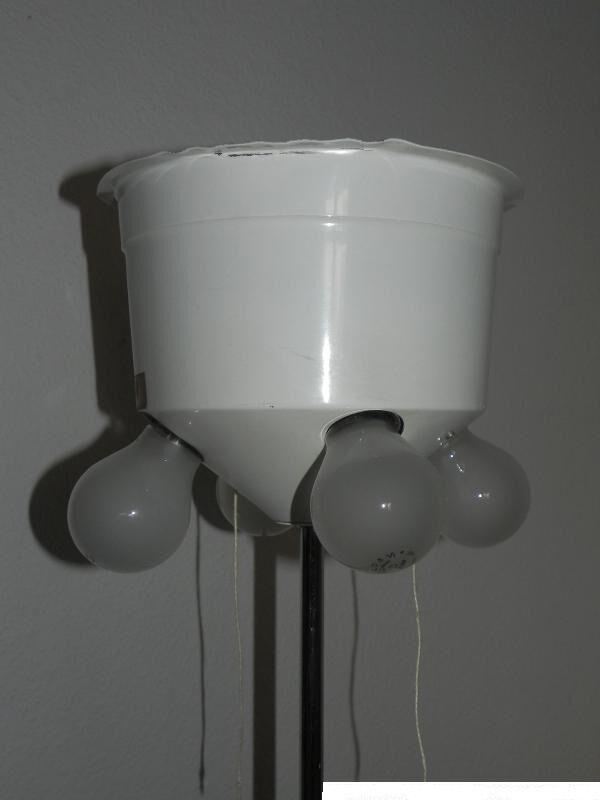 grosse stehlampe boden staff lampe fluter chrom stehlampen lampen eur 150 00 picclick de. Black Bedroom Furniture Sets. Home Design Ideas