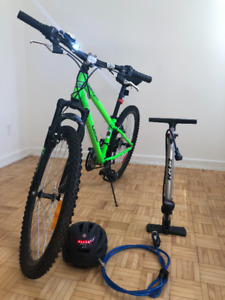 Bike with warranty for this beautiful summer.