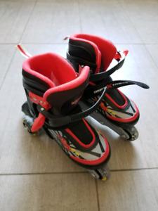 Patins à roues alignées ajustables (enfants)