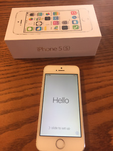 White iPhone 5S 32GB