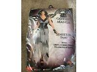 Halloween gothic fairy costume