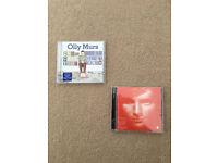Olly Murs and Ed Sheeren Music CDs