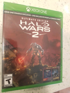 Halo Wars 2 - Xbox One new game sealed