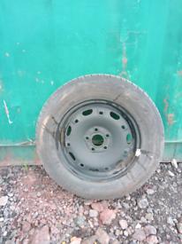 Polo Mk5 Spare Wheel