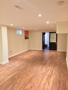 Large 2 bedroom basement apartment at Dufferin & Steeles.$1300
