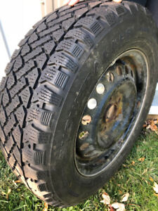 Winter tires- 205-65-15 200$ includes four tires and rims