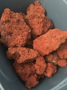 LAVA ROCK FOR SALE - USED