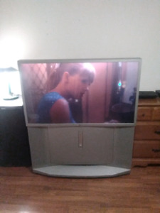 Sony projection TV.