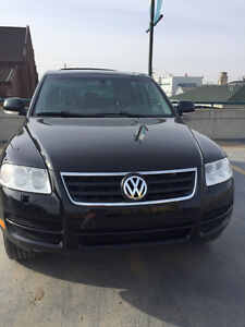 2004 Volkswagen Touareg SUV, winter tires also included