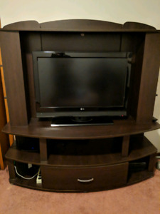 $200 for both Entertainment Stand & LG TV