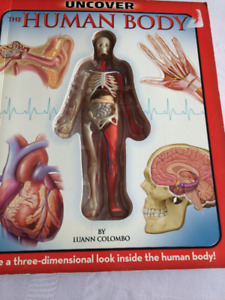 Uncover The Human Body Book (three-dimensional) 8 yrs up