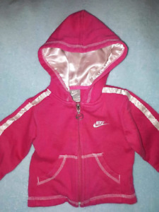 Columbia,Nike,Baby Toddler Girl 2 Spring Jackets,Poncho Sz 12mts