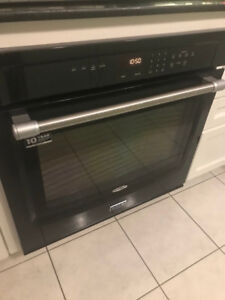 Used Maytag Wall oven and Glass Cooktop (stove top)