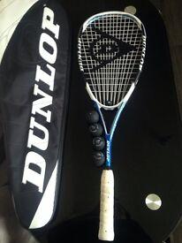 Dunlop Aerogel Pro GT Plus Squash Racket