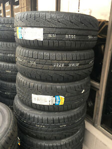 Four New 235 / 45 R20 Pirelli Sottozero Winter / Snow Tires
