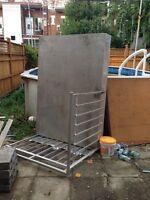 Balcon en aluminium soudé
