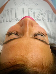 Mink/Silk Eyelash Extensions - Unlimited Count - Microblading Cambridge Kitchener Area image 2