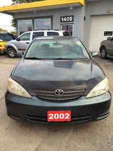 2002 Toyota Camry ~ JUST SAFETIED!