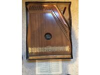 Piano Chord Zither type Victorian Instrument Antique 1900s