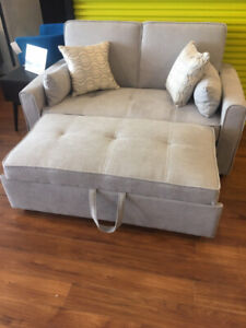 Modern, Compact, Condo Sized, Sleeper, Futon, Sofabed, lounger