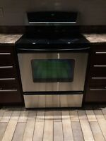 Whirlpool Stainless Steel Cooktop Stove Range Oven