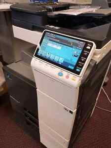 REPOSSESSED OFF-LEASE COPIER FOR SALE COLOUR COPIERS COLOR COPY MACHINES PRINTERS FAX MACHINE SCANNER MINOLTA BIZHUB