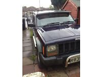 Jeep Cherokee 2.5 TD Sport spares or repairs