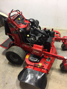 "2014 TORO GRANDSTAND MOWER 52"" - EFI -STAND ON ZTR - ( Exmark )"